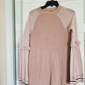 Free people ladies dress is size Medium